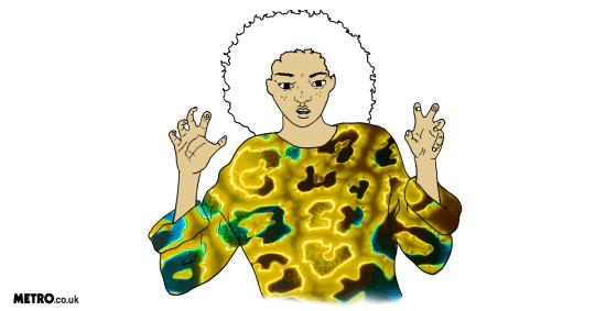 illustration of the leo star sign