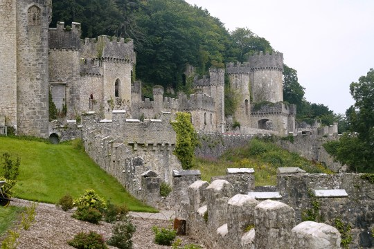 Gwyrch Castle in Wales, the new location for this year's I'm A Celebrity