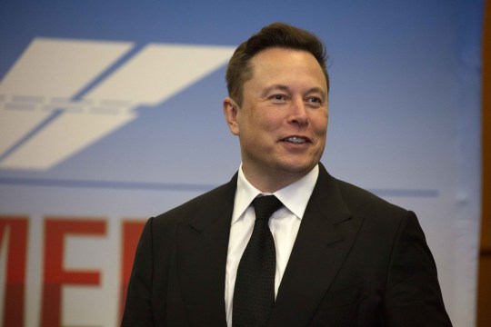 Elon Musk, founder and CEO of SpaceX, participates in a press conference at the Kennedy Space Center on May 27, 2020 in Cape Canaveral, Florida.