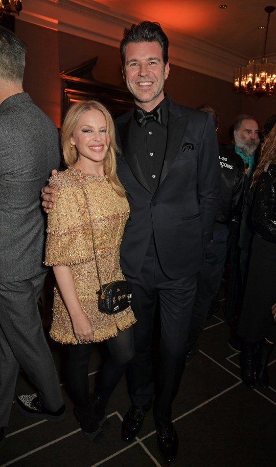 Kylie Minogue and boyfriend