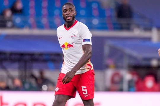 Dayot Upamecano RB Leipzig v Istanbul Basaksehir: Group H - UEFA Champions League