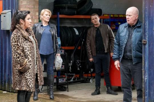 Phil, Kat, Ben, Shirley in EastEnders