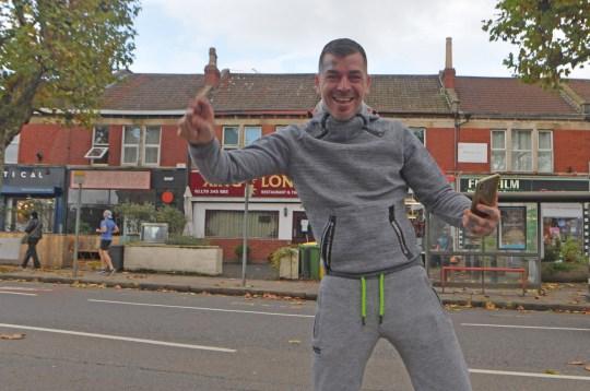 Aron Walton from Bishopston, Bristol, tattooist Holey Skin is vowing to keep his studio open in breach of the second coronavirus lockdown Credit: BristolLive/BPM