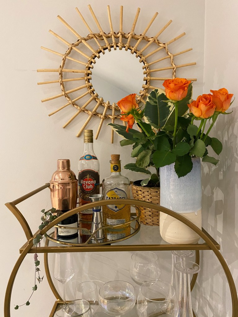 What I Rent: Rosie, Southsea - bar cart