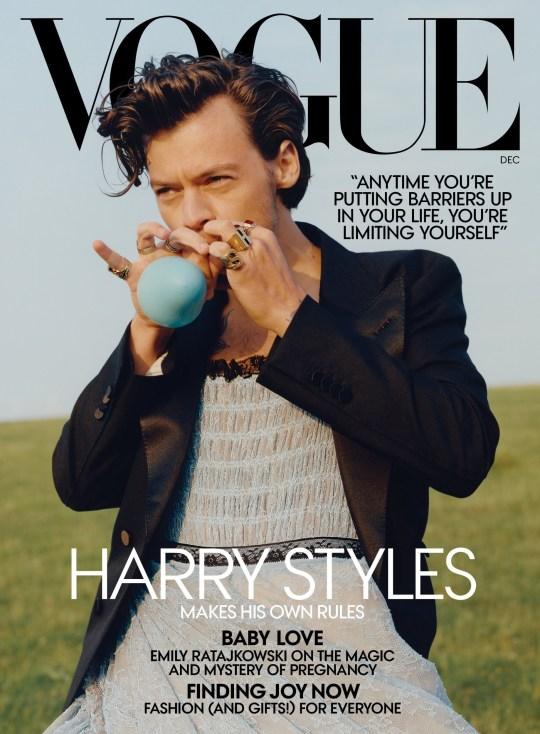 Harry Styles US Vogue