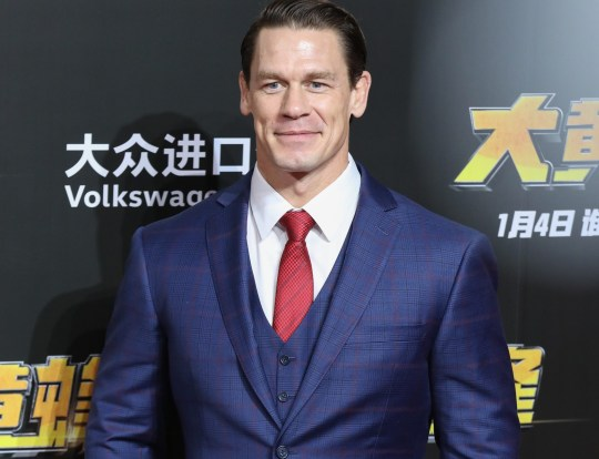 John Cena pictured on red carpet