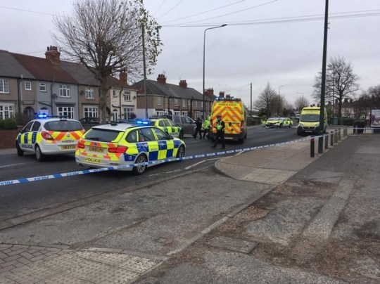A woman has tragically died after a crash involving an East Midlands Ambulance Service car that was responding to an emergency. Yarborough Road in Grimsby was closed for several hours following the collision shortly before midday.