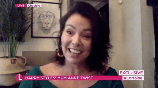 Harry Styles' mum Anne Twist