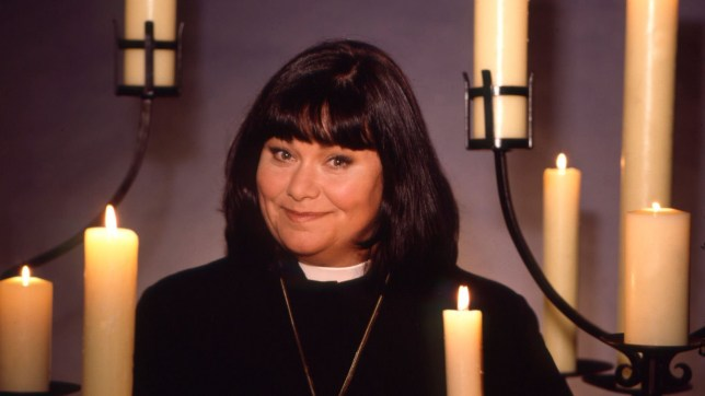 Television programme: The Vicar of Dibley - Geraldine (Dawn French) Tx: BBC One