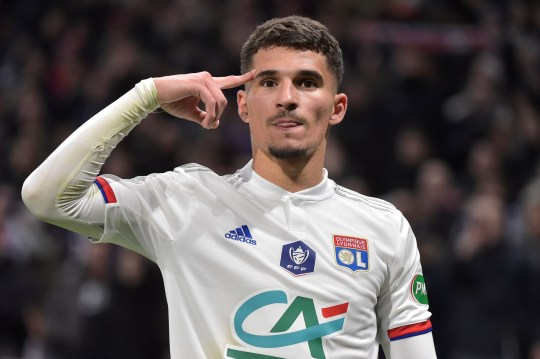 Houssem Aouar intends to see out the season with Lyon