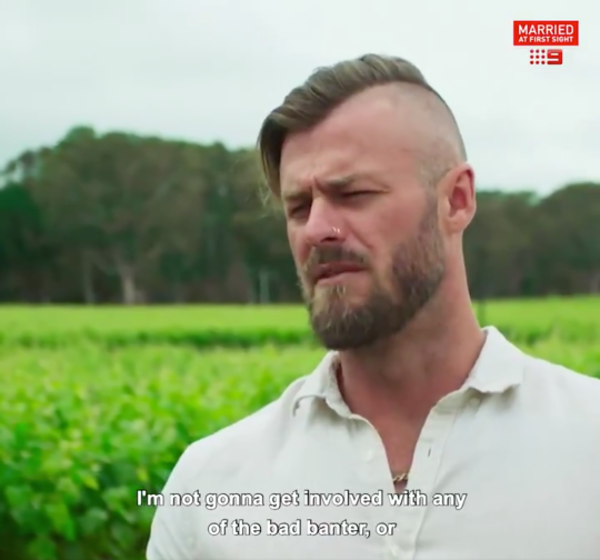 Chris on Married At First Sight Australia