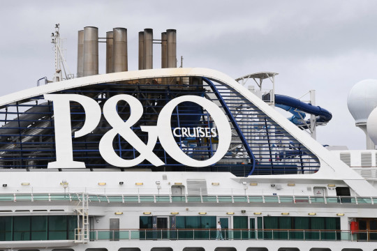 SYDNEY, AUSTRALIA - MARCH 16: The P&O cruise ship Pacific Explorer sits empty at White Bay Terminal on March 16, 2020 in Sydney, Australia. Tougher travel restrictions are now in place for Australia as the government deals with the ongoing COVID-19 pandemic, including a mandatory 14-day quarantine period for all international arrivals from midnight Sunday, and a ban on foreign cruise ships. Australia currently has 300 confirmed cases of coronavirus while five people have died ??? four in NSW and one in Queensland. (Photo by James D. Morgan/Getty Images)