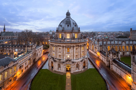 Blue Hour, Radcliffe Camera, Oxford, England