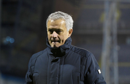 Jose Mourinho, Manager of Tottenham Hotspur looks dejected following defeat in the UEFA Europa League Round of 16 Second Leg match between Dinamo Zagreb and Tottenham Hotspur at Stadion Maksimir on March 18, 2021 in Zagreb, Croatia. Sporting stadiums around Europe remain under strict restrictions due to the Coronavirus Pandemic as Government social distancing laws prohibit fans inside venues resulting in games being played behind closed doors.