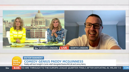 paddy mcguinness - gmb