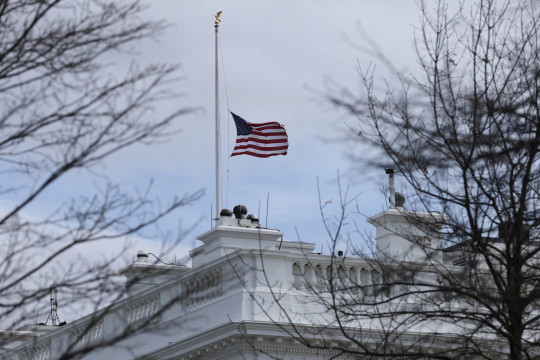 US flag at half-mast to commemorate victims of Monday's shooting