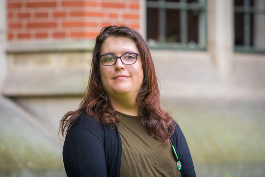Official Green Party Portrait of Aimee Challenor