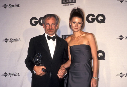 Gwyneth Paltrow and Steven Spielberg attend Ron Galella Archive - File Photos 2011