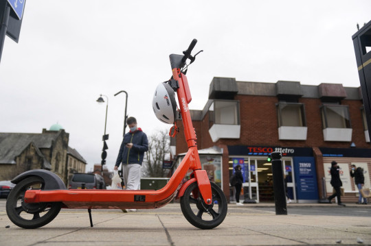 File photo dated 24/02/21 of an e-scooter in Jesmond, Newcastle, where a fleet of 250 orange electric scooters was opened up to the public in Newcastle. Six defendants are appearing at North Tyneside Magistrates' Court today charged with a drink-driving offence while riding an e-scooter. The first, student Joseph Vesey, 22, admitted drink-driving and was banned from driving for 12 months and ordered to pay a fine, costs and a surcharge totalling ?239. Issue date: Thursday March 25, 2021. See PA story COURTS Scooters. Photo credit should read: Owen Humphreys/PA Wire Joseph Vesey, 22, was stopped by police in Jesmond, Newcastle, while riding one of the city?s new hire scooters. The first of six defendants to appear in court charged with a drink-driving offence while riding an e-scooter has been banned from the roads for 12 months.