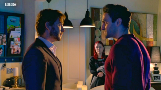 Gray and Kush in EastEnders