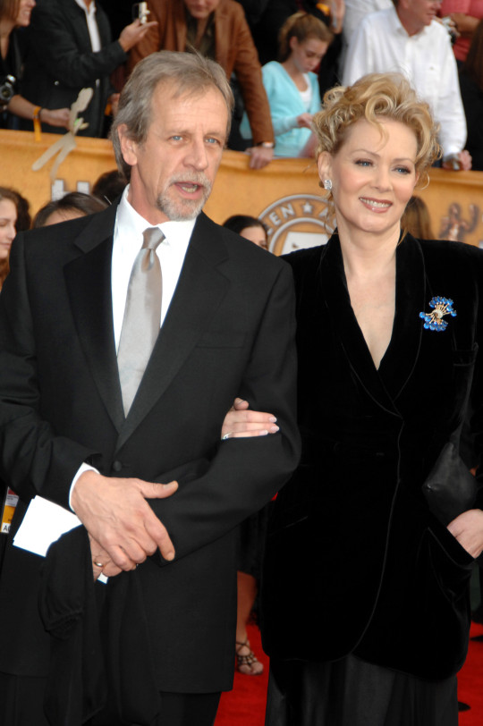 Richard Gilliland and wife Jean Smart