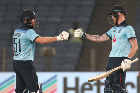 England chased down 337 to win the second ODI