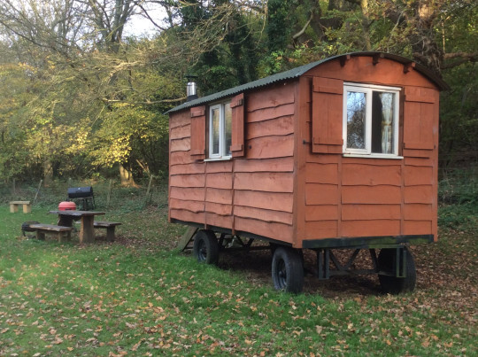 Waydown Shepherds Huts, Sussex
