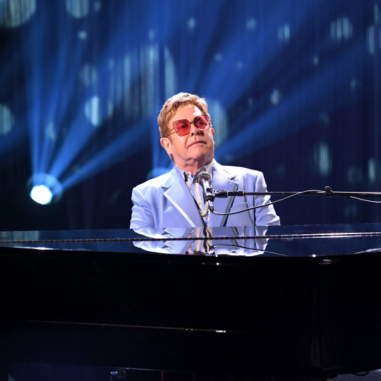 Elton is branching out to work with other influential singers (Picture: Getty)