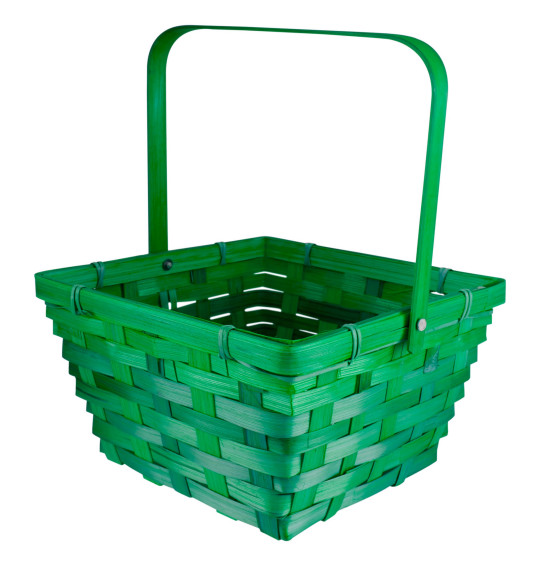 Coloured Straw Easter Baskets