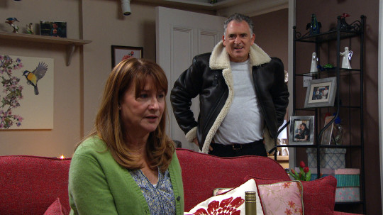 Bob and Wendy in Emmerdale