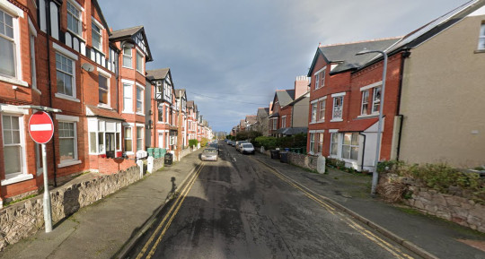 Lawson Road in Colwyn Bay. Personal trainer died after drinking caffeine before workout. Thomas Anthony Mansfield.