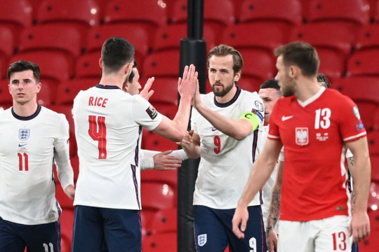 Harry Kane was on target for England during the international break
