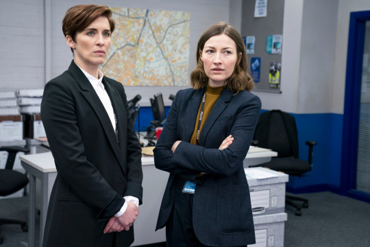 WARNING: Embargoed for publication until 00:00:01 on 23/03/2021 - Programme Name: Line of Duty S6 - TX: n/a - Episode: Line Of Duty - Ep 2 (No. n/a) - Picture Shows: *NOT FOR PUBLICATION UNTIL TUESDAY 23RD MARCH, 2021* DI Kate Fleming (VICKY MCCLURE), DCI Joanne Davidson (KELLY MACDONALD) - (C) World Productions - Photographer: Steffan Hill