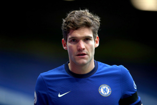 Marcos Alonso downplayed the significance of the bust-up