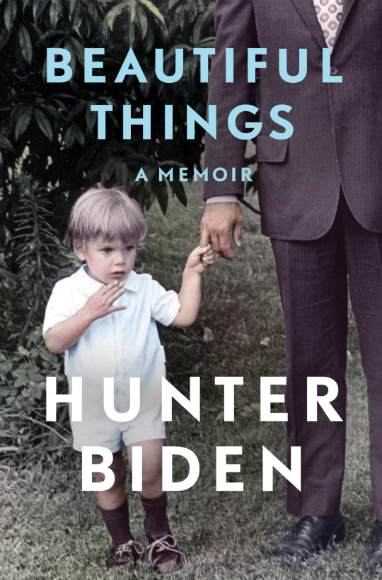 Cover of Hunter Biden's new autobiography