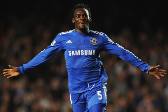 Essien won the Champions League with the Blues in 2012