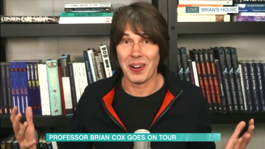 Brian Cox on This Morning