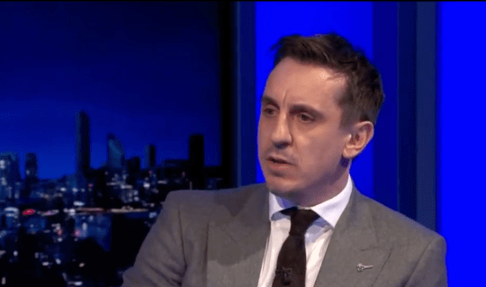 Gary Neville discussed Jesse Lingard's Manchester United future amid his impressive form at West Ham.