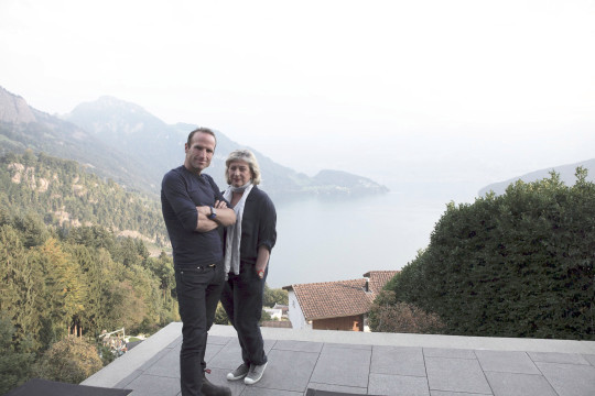 World's Most Extraordinary Homes Featuring: Piers Taylor and Caroline Quentin in Switzerland