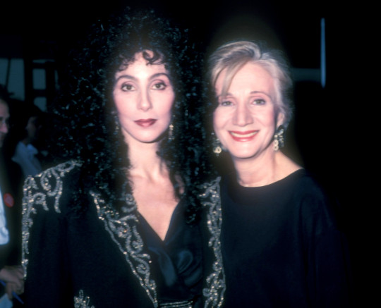 Cher and Olympia during The 15th Annual People's Choice Awards