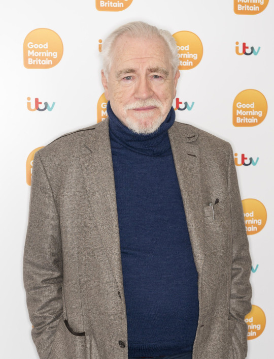 Brian Cox 'Good Morning Britain' TV show, London, UK - 12 Mar 2020 SUCCESSION STAR Brian Cox in the studio Editorial use only Mandatory Credit: Photo by Ken McKay/ITV/REX (10580713o)