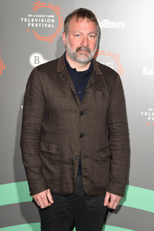 Mandatory Credit: Photo by REX (10202814s) Jed Mercurio Radio Times Hall of Fame photocall, BFI and Radio Times Television Festival, London, UK - 12 Apr 2019