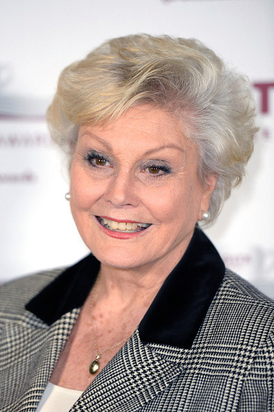 Angela Rippon proved she's fit at the age of 76