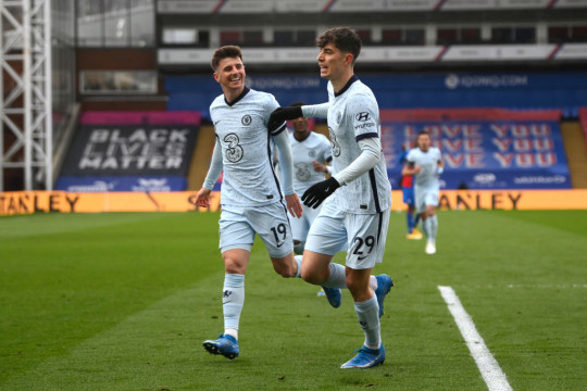 Wright thinks that Aguero in front of the likes of Mount and Havertz would be a force to be reckoned with