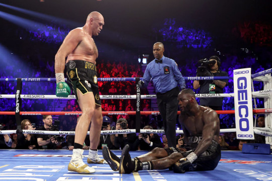 Tyson Fury hasn't been in the ring since he beat Deontay Wilder in February 2020