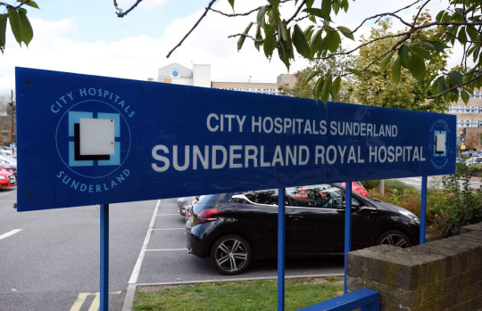 Sunderland Royal Hospital. Newcastle Crown Court has jailed Clinton Ruddy for several offences, including threatening and abusing a doctor at Sunderland Royal Hospital.