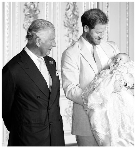 New pic of Prince Harry, Prince Charles and Archie