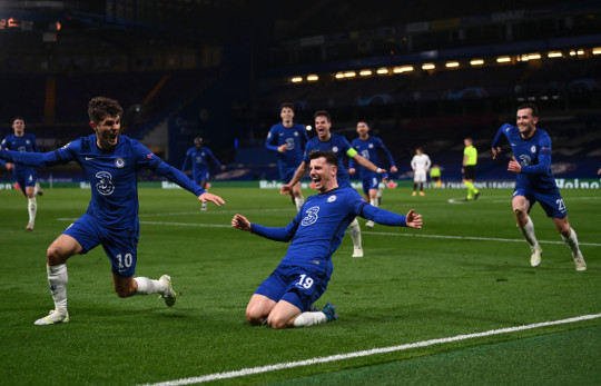 The Blues have secured their place in the Champions League final after beating Real Madrid