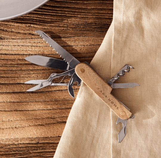 Wood and stainless steel tool Zara