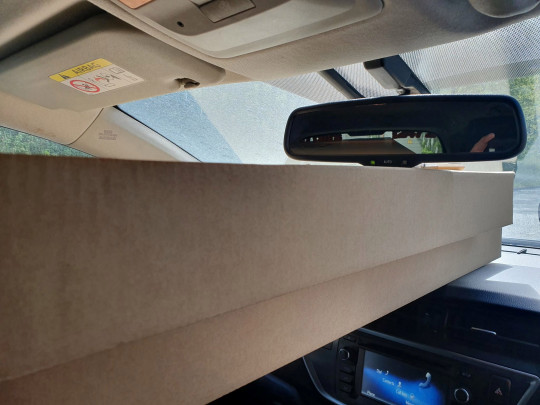 An Ikea customer was pulled over by cops on a busy motorway for blocking his car windscreen ? with two flat-pack WARDROBES. See SWNS story SWMDikea. The dozy motorist was behind the wheel of a Hyundai when he was stopped by stunned officers on the M6 near Birmingham on Thursday (6/5). Officers discovered the driver had crammed two ?210 Pax wardrobes into the car which were obscuring more than half the windscreen. The driver told officers from the Central Motorway Police Group (CMPG) he was making a return journey from the nearby IKEA store in Wednesbury. He was fined and received penalty points on his driving licence.